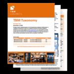 TBM Taxonomy